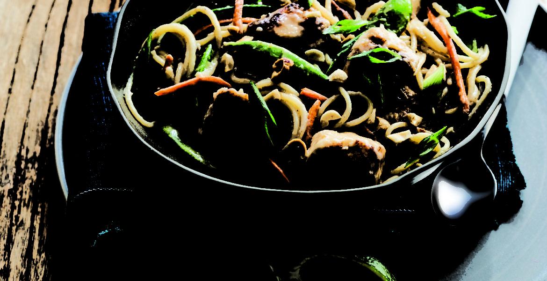Spicy Garlic And Chili Prawn
